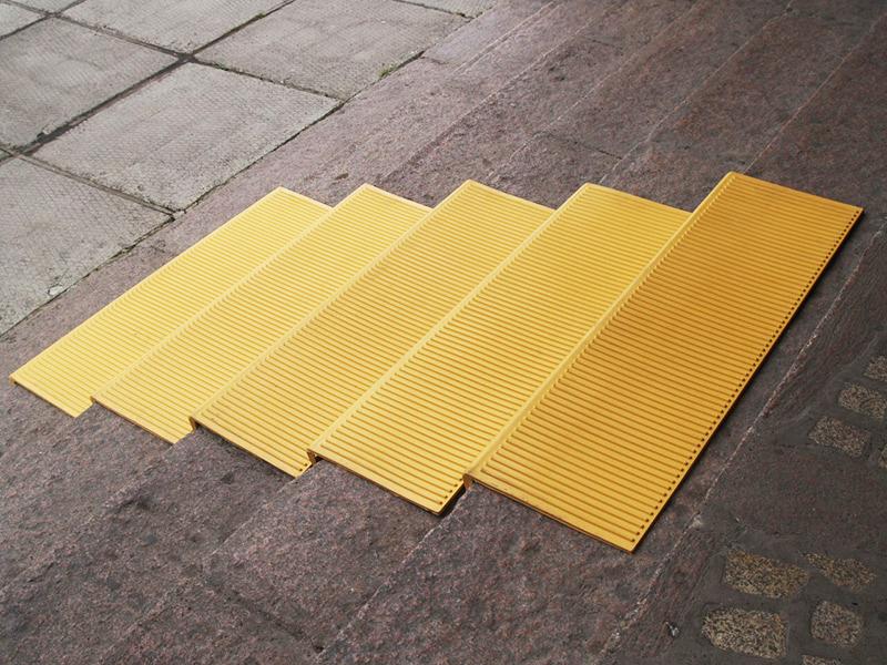 проступи 1100 мм желтые