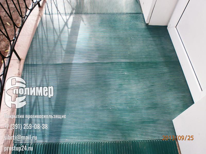 рифленые покрытия резиновые зеленые
