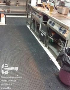 покрытие пятачковое на кухне