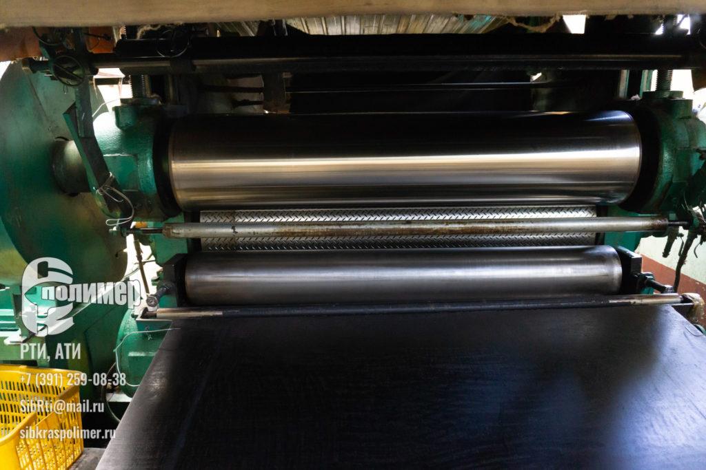 производство наполольного резинового покрытия