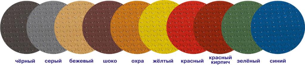 круглое пятачковое покрытие