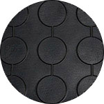 резиновое покрытие с круглым пятачком