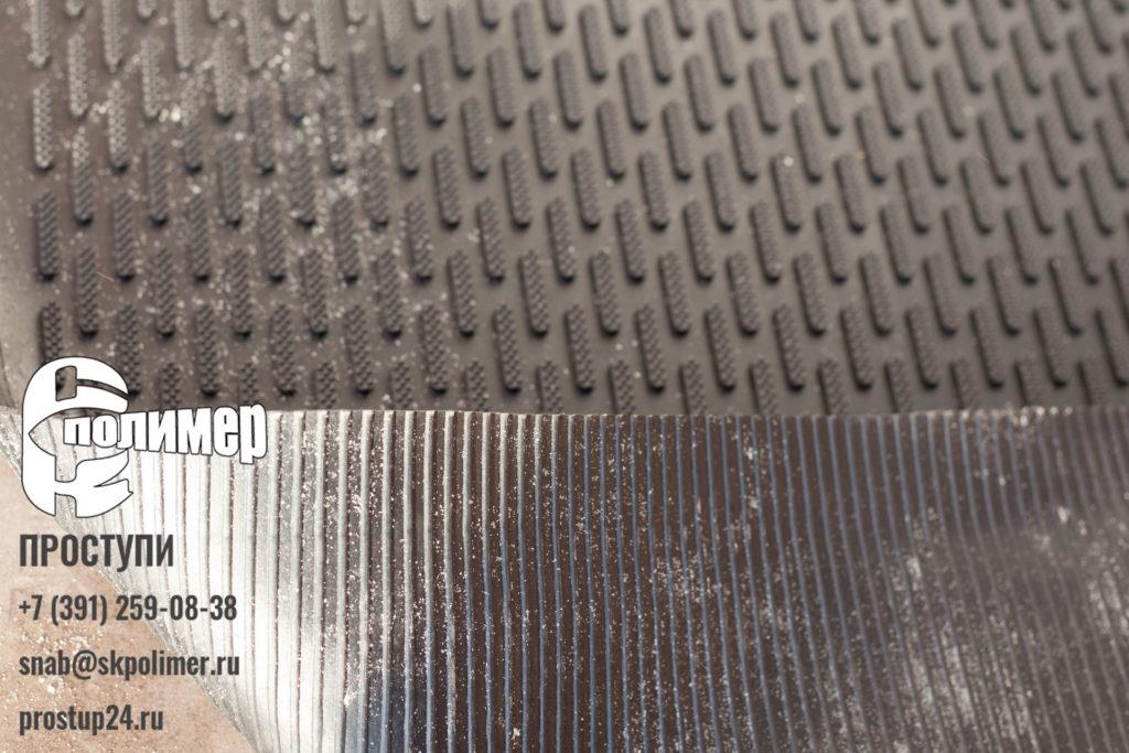 Обратная сторона коврик грязезащитный стоп