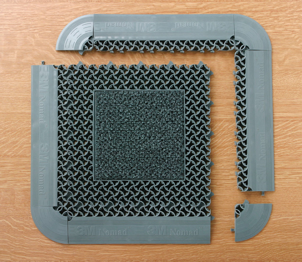 составные части модульного покрытия