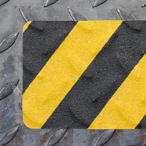 Schwarz-Gelb-Beispiel-Verformbar