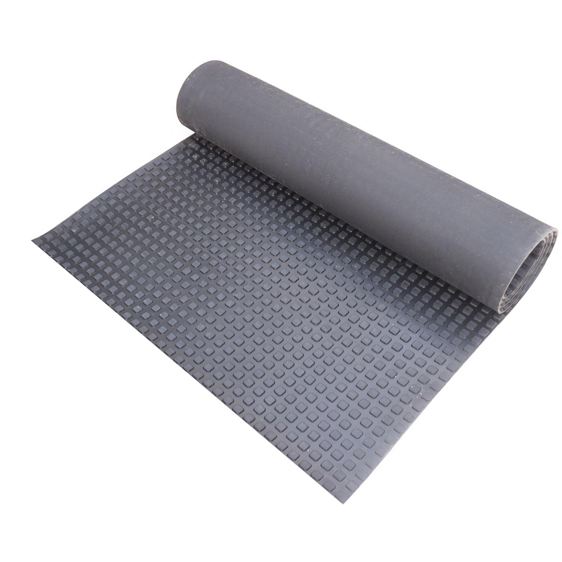 Рулоновый коврик с квадратным рифлением