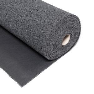 Виниловый коврик спирально-витой легкий с твердой основой