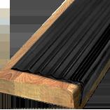 Противоскользящая угловая накладка-окантовка самоклеющаяся; «НОРМАЛ» 50х20х12000