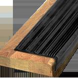 Противоскользящая угловая накладка-окантовка самоклеющаяся; «МИНИ» 41х18х10000