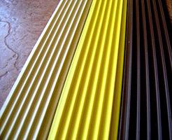 Противоскользящая плоская накладка-окантовка самоклеющаяся; «Супер МАКСИ» 46х5х12000
