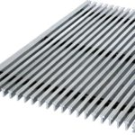 Грязезащитная решетка металлическая 500х1000×20(30)