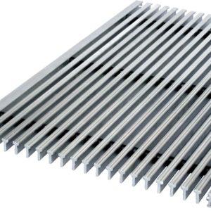 Грязезащитная решетка металлическая 1000х1000×20(30)