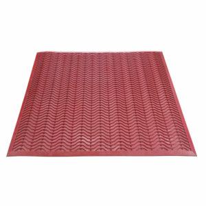 Напольный грязезащитный резиновый ковер «Волна» 1000х1100 Цветной