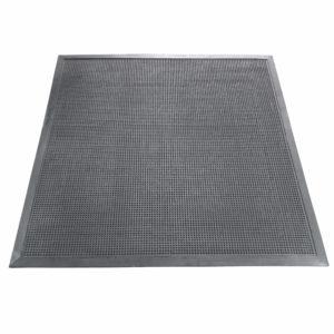 Напольный грязезащитный резиновый ковер «Шипы» 1000х1100 Черный