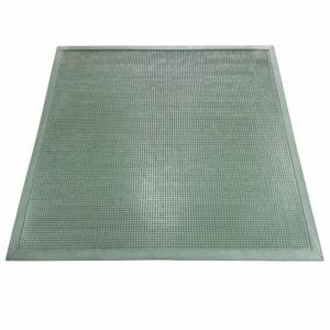 Напольный грязезащитный резиновый ковер «Шипы» 1000х1100 Цветной