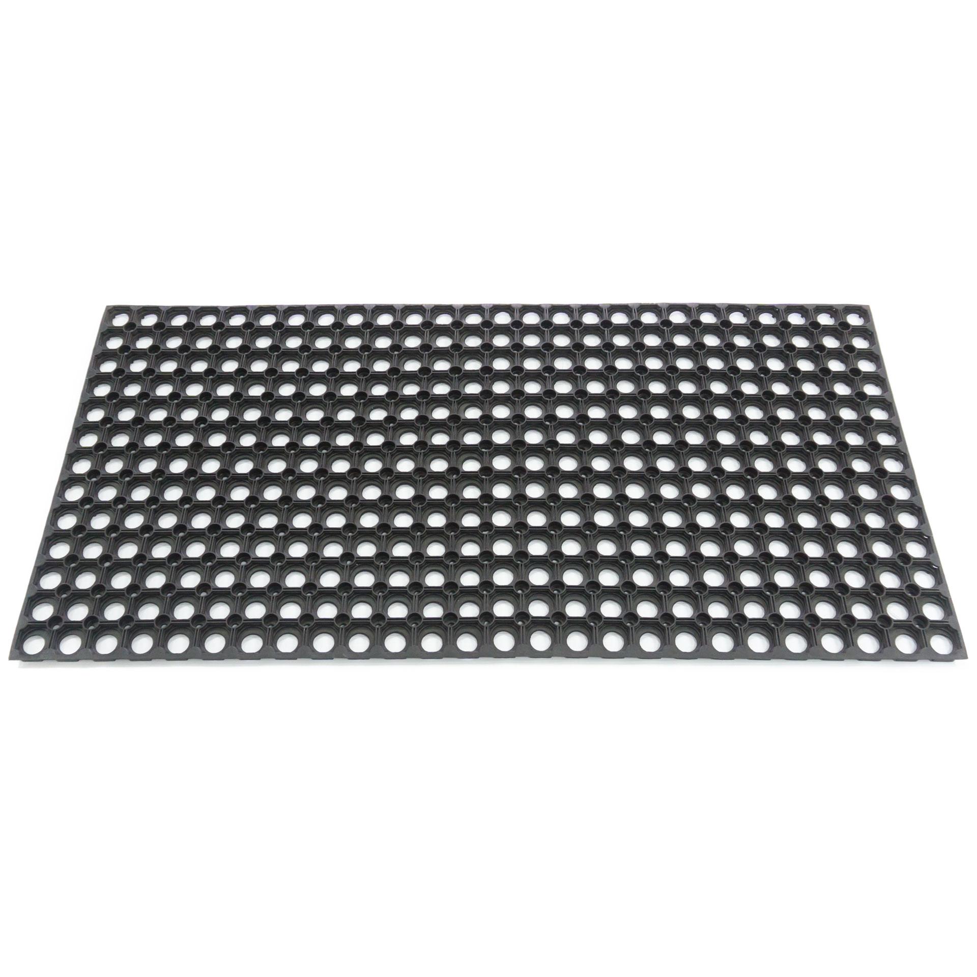 Резиновый коврик со сквозными отверстиями