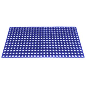 Коврик антискользящий резиновый с отверстиями 500х1000х16 Цветной
