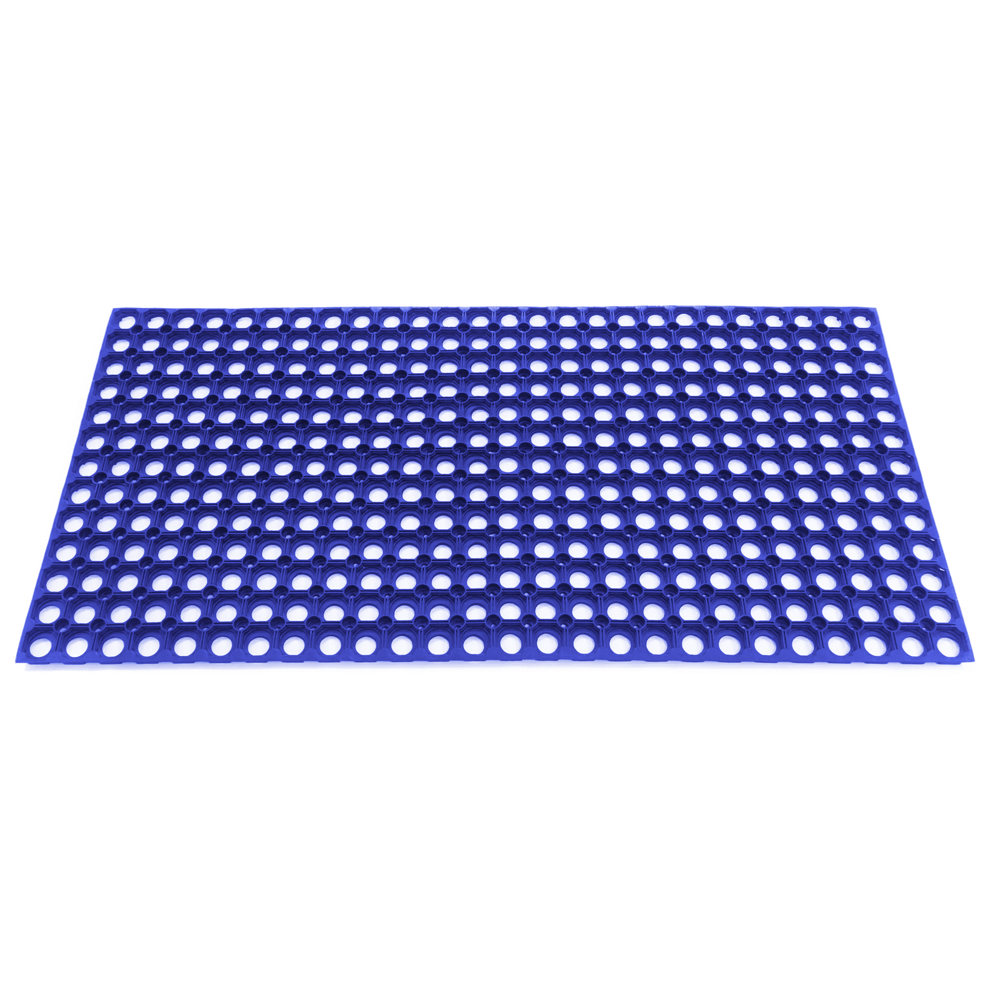 Цветной резиновый коврик со сквозными отверстиями