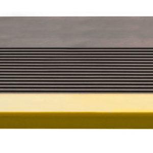Накладка на ступень (Проступь) Удлиненная продольное рифление 1200x300x30 Светофор