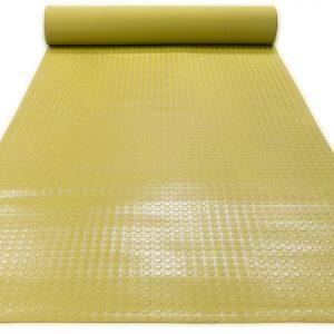 Противоскользящее напольное рулонное резиновое покрытие- Пятачковое рифление. 1250; Цветное